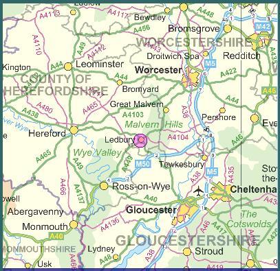 Ledbury Tourist Information Stay Here Ledbury