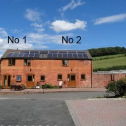 2-courtyard holiday cottage near Ledbury