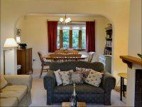 living room at holiday accommodation near Ledbury