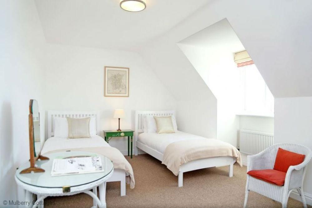 Twin room at Ledbury holiday accommodation