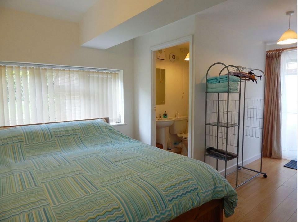 Bedroom at self catering Ledbury