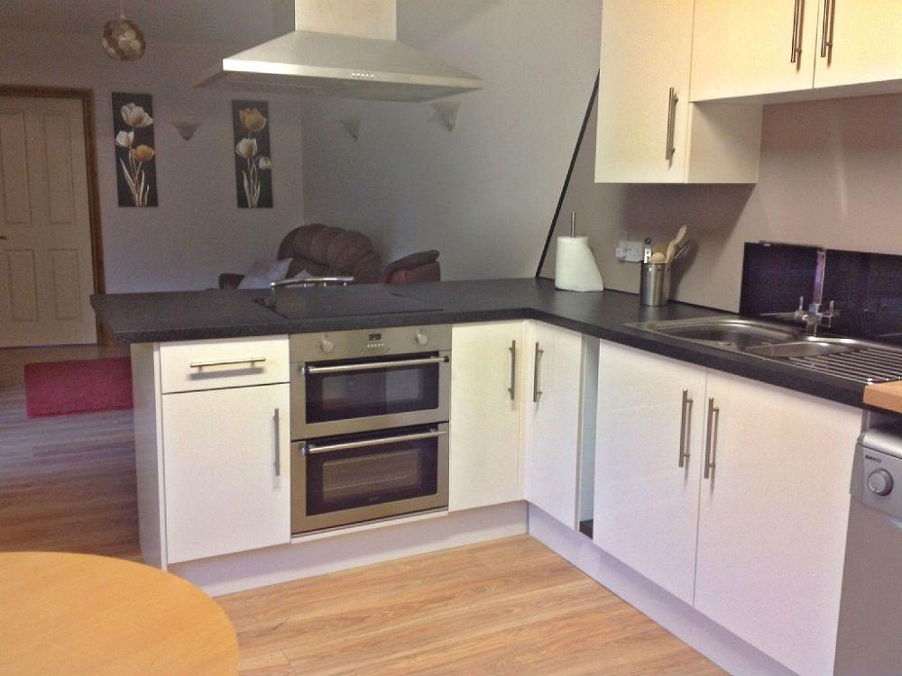 kitchen at self catering Wellington Heath