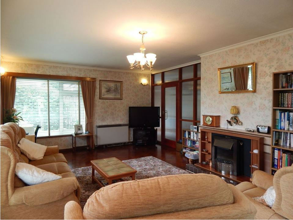 Living room at self catering Ledbury