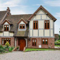 Upper House holiday accommodation near Ledbury