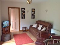 living room at self catering Wellington Heath