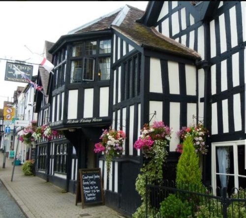 The Talbot hotel in Ledbury