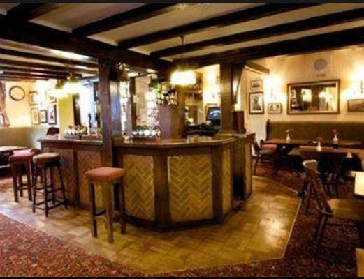 bar at talbot hotel ledbury