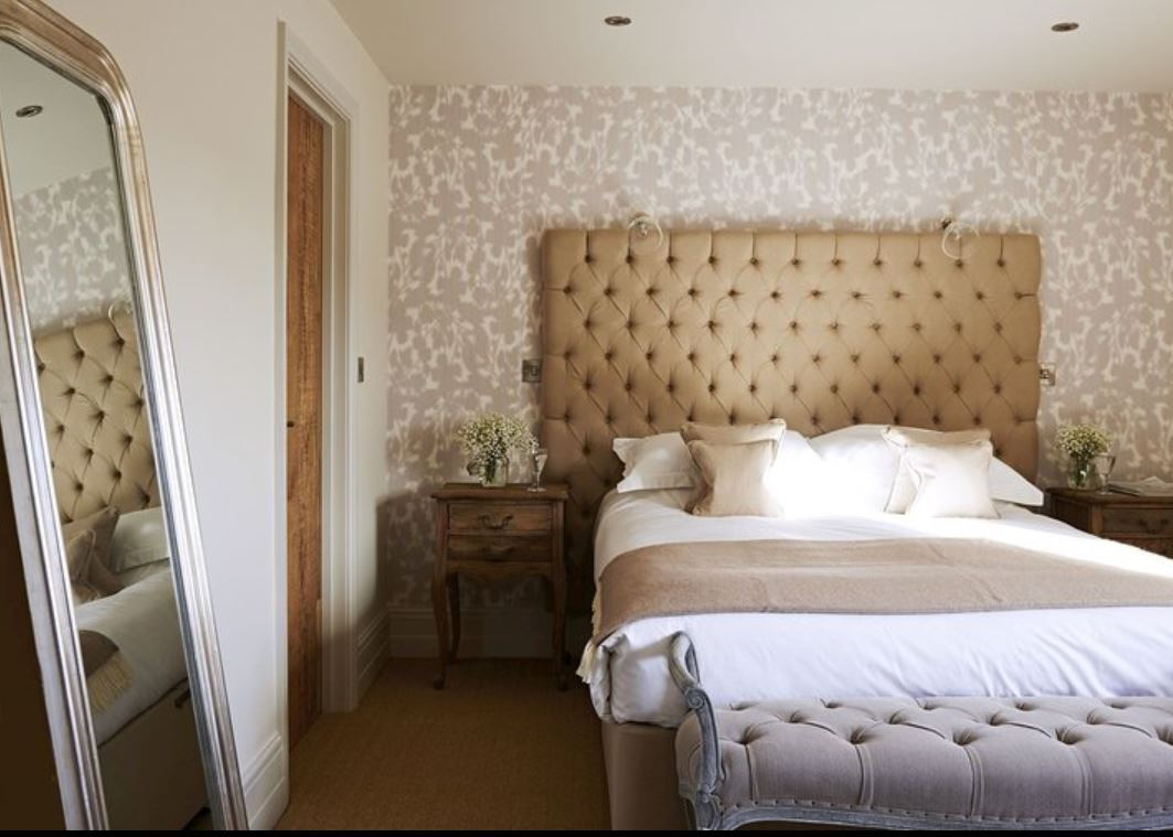 Double room at luxury holiday home Ledbury