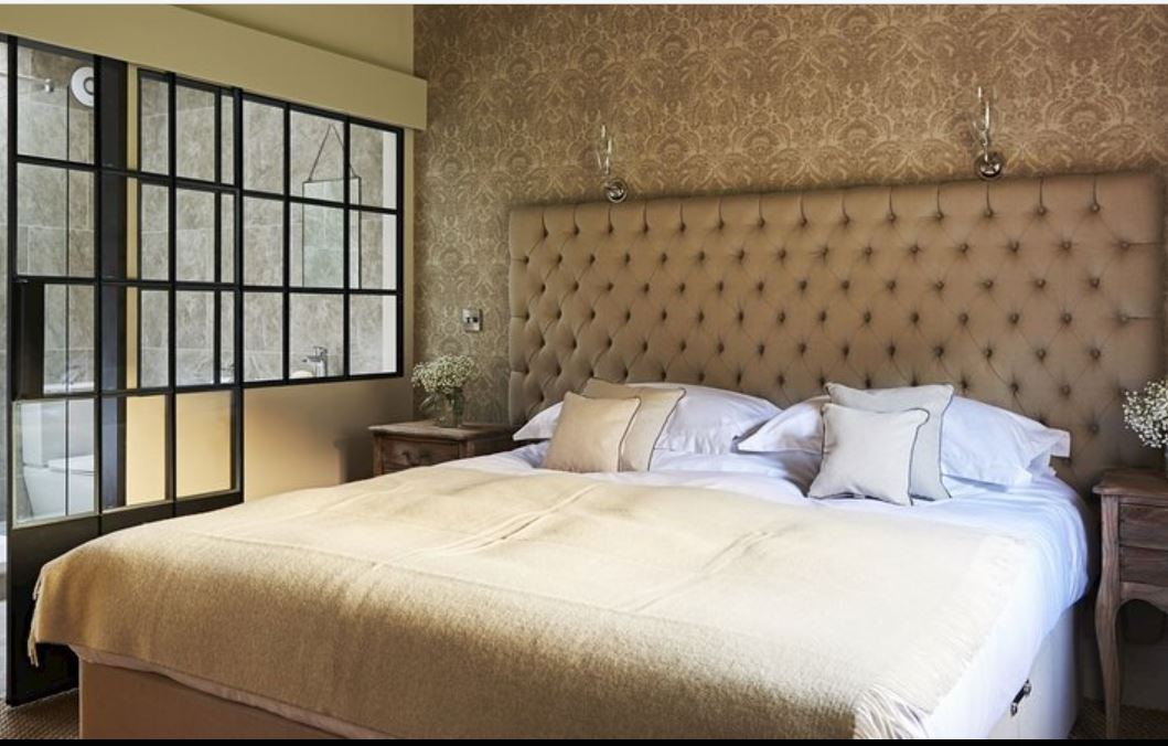 Double room at luxury self catering Ledbury