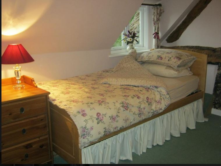Twin room at B&B near Ledbury