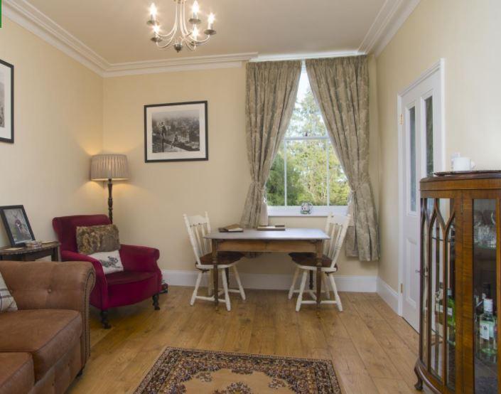 Living room in Ledbury self catering