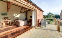 Enjoy the balcony at Ledbury self catering