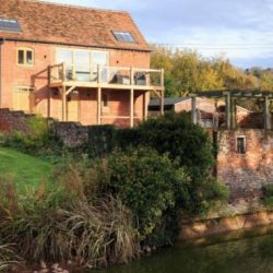 Rural location of luxury self catering Ledbury