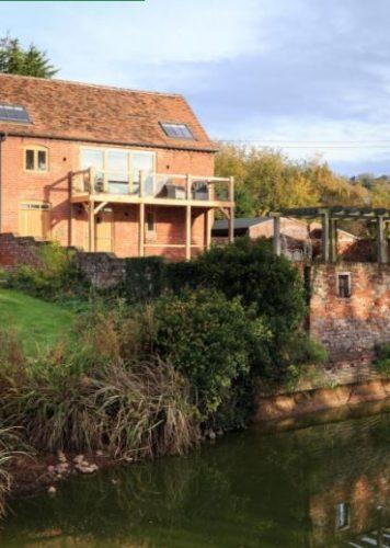 Rural location of luxury self catering Ledbury