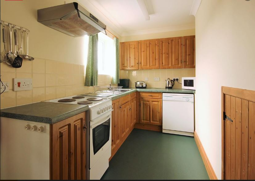 Kitchen in Ledbury holiday home