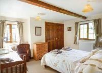 Family room at self catering near Ledbury