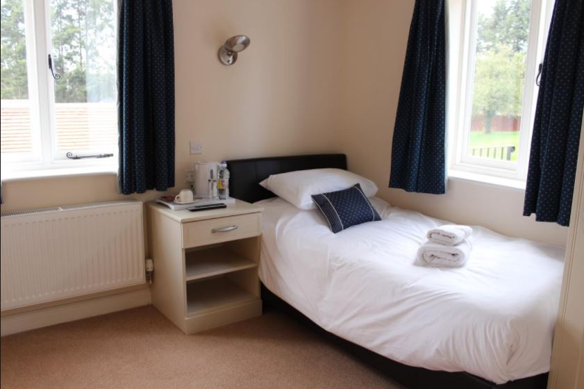 Single room at hotel near Ledbury