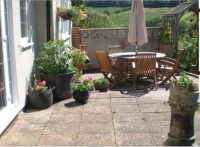 Patio at B&B near Ledbury