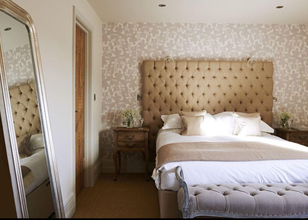 Double room at luxury holiday home Ledbury