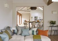 Open plan living at luxury self catering Ledbury