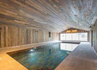 Pool at luxury holiday home Ledbury