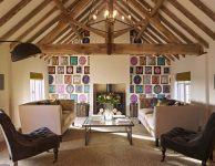 Sitting room at luxury holiday home Ledbury
