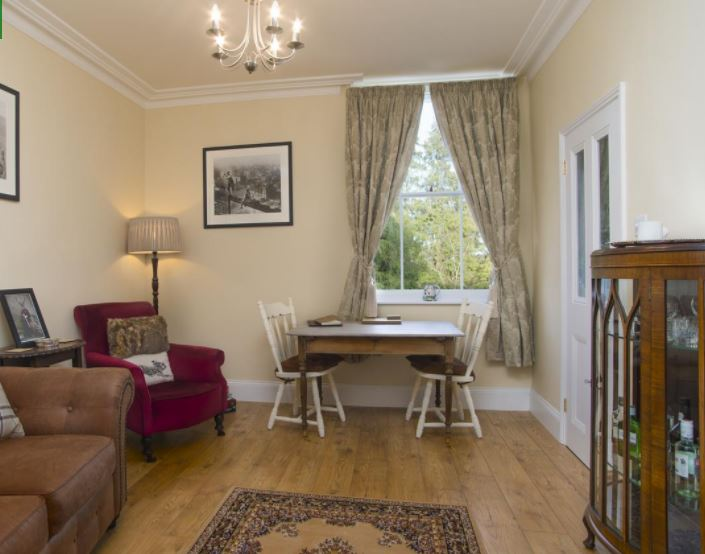 Living room in Ledbury self catering