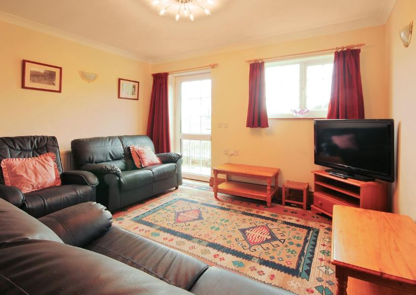 Living room at self catering in Ledbury