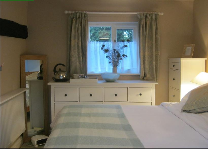 Bedroom at Ledbury B&B